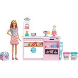 Mattel Игровой набор Barbie Кондитерский магазин