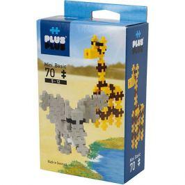 Plus Plus Конструктор Plus Plus для создания 3D моделей «Сафари», 70 деталей