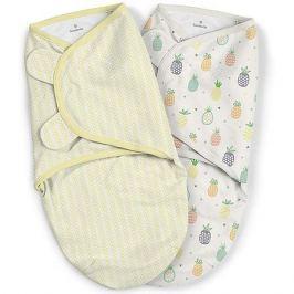Summer Infant Конверт для пеленания на липучке Summer Infant, ананасы,