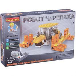 Bondibon Конструктор Bondibon Робот-черепаха, 77 деталей