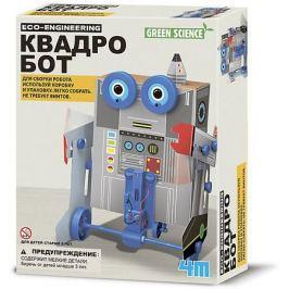 4M Набор для робототехники Green Science Квадробот