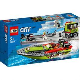 LEGO Конструктор LEGO City Great Vehicles 60254: Транспортировщик скоростных катеров