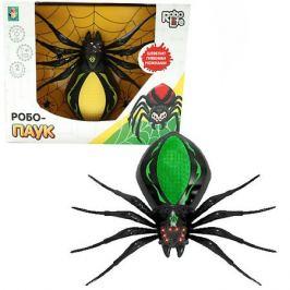 1Toy Радиоуправляемая игрушка 1Toy RoboLife Робо-паук, чёрно-зелёный