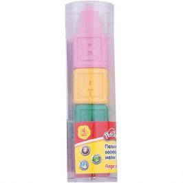 Kinderline Play-Doh Восковые мелки для самых маленьких 4 шт. Размер 14 х 3,7 х 3,7 см.