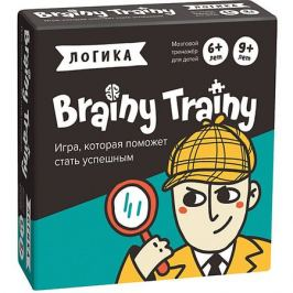 Brainy Trainy Игра-головоломка Brainy Trainy
