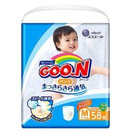 Goon Подгузники-трусики Goon, М 6-12 кг, 58 шт.