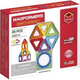 MAGFORMERS Магнитный конструктор MAGFORMERS Basic Plus 26 Set
