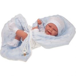 Munecas Antonio Juan Кукла-младенец Munecas Antonio Juan Матео в голубом, 42 см