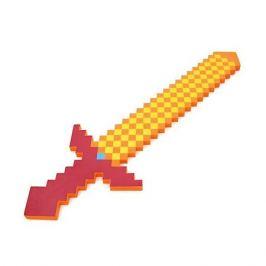 Pixel Crew Пиксельный меч, оранжевый, 75 см, Minecraft