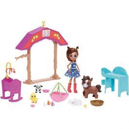 Mattel Игровой набор Enchantimals Звериная ферма Хейди Хорс