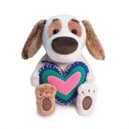 Budi Basa Мягкая игрушка Budi Basa Собака Бартоломей baby с сердечком из флиса, 20 см