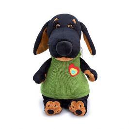 Budi Basa Мягкая игрушка Budi Basa Собака Ваксон в жилете с сердечком, 25 см