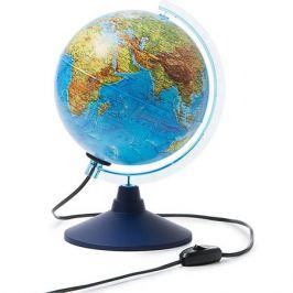 Globen Глобус Земли физико-политический с подсветкой 210мм