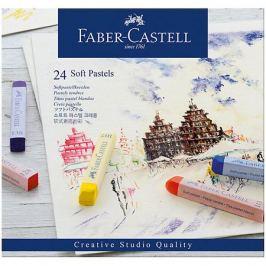 Faber-Castell Пастель Faber-Castell Soft pastels, 24 цвета