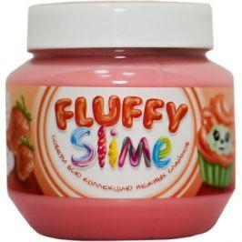 KiKi Слайм Monster's Slime Fluffy Красный с ароматом клубники, 250 мл