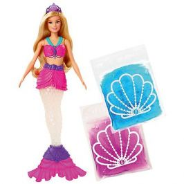 Mattel Кукла Barbie Русалочка со слаймом