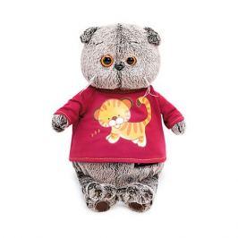 Budi Basa Мягкая игрушка Budi Basa Кот Басик в футболке с принтом