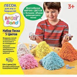 Angel Sand Песок для лепки Angel Sand 5-Color Pack
