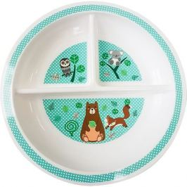 Uviton Baby Секционная тарелочка Uviton Baby, 19 см, бирюзовая