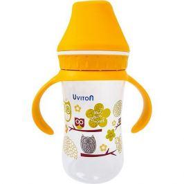 Uviton Baby Бутылочка Uviton Baby с широким горлышком, 250 мл, золотистый