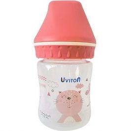 Uviton Baby Бутылочка Uviton Baby с широким горлышком, 125 мл,