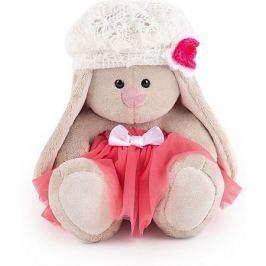 Budi Basa Мягкая игрушка Budi Basa Зайка Ми в розовой юбке с белым беретом, 15 см