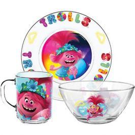ND Play Набор посуды ND Play Тролли 2 Поп, 3 предмета