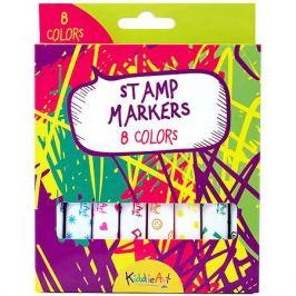 KiddieArt Маркеры-штампики KiddieArt 8 штук