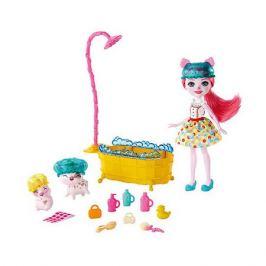 Mattel Игровой набор Enchantimals Банный день с Петти Пиг