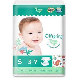 Offspring Эко-подгузники Offspring Котики S 3-7 кг., 48 шт.