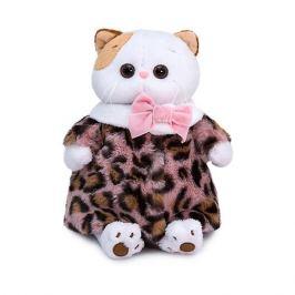 Budi Basa Одежда для мягкой игрушки Budi Basa Шубка из меха с леопардовым принтом, 24 см