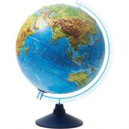 Globen Интерактивный глобус Земли Globen физико-политический рельефный с подсветкой, 320мм