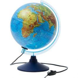 Globen Интерактивный глобус Земли Globen физико-политический с подсветкой, 250мм