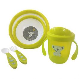 Uviton Baby Набор посуды Uviton Baby, зелёный