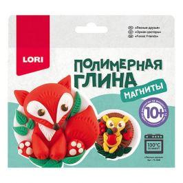 LORI Полимерная глина LORI Магниты «Лесные друзья»