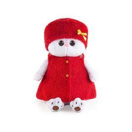 Budi Basa Мягкая игрушка Budi Basa Кошечка Ли-Ли в красной безрукавке и шапочке, 27 см