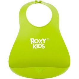 Roxy-Kids Нагрудник Roxy-Kids мягкий, зелёный