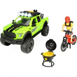 Dickie Toys Игровой набор велосипедиста Dickie Toys Ford Raptor PlayLife, 25 см