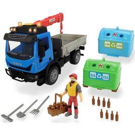 Dickie Toys Игровой набор перевозчика стеклотары Dickie Toys Playlife, 7 аксессуаров