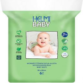 Helmi Пеленки впитывающие Helmi Baby 60Х58 СМ, 6 шт