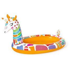 Bestway Надувной бассейн с брызгалкой Bestway Жираф, 266х157х127 см