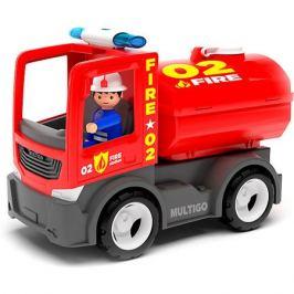 Efko Машинка Efko Пожарная машина с цистерной и с водителем, 22 см
