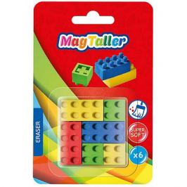 MagTaller Ластик MagTaller Form, 6 шт