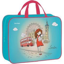 Berlingo Папка-сумка Berlingo Girl in London, А4