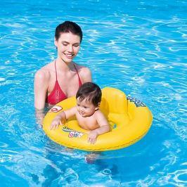 Bestway Круг для плавания с сиденьем и спинкой Swim Safe, 69 см, ступень А, Bestway