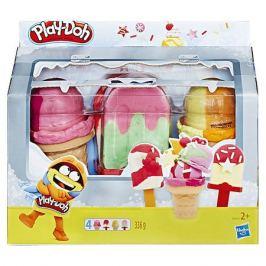 Hasbro Игровой набор Play-Doh Холодильник с мороженым