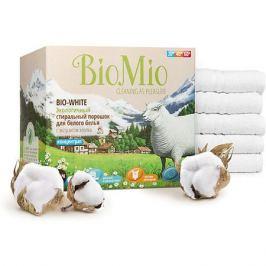 BIO MIO Экологичный стиральный порошок для белого белья с экстрактом хлопка, концетрат, BIO MIO