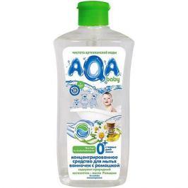 AQA baby Cредство для мытья ванночек AQA baby с ромашкой, 500 мл
