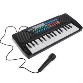 Наша Игрушка Синтезатор Наша игрушка с микрофоном