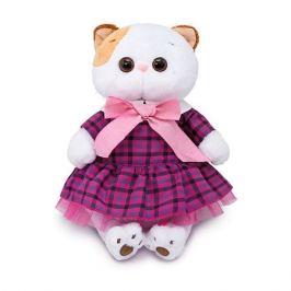 Budi Basa Одежда для мягкой игрушки Budi Basa Платье в клетку с розовым бантом, 24 см